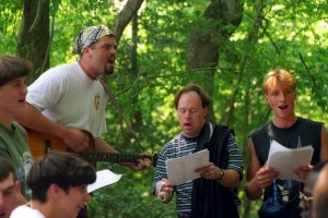 Sing-along at Camp Easter Seals-East