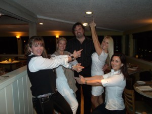 """Eric's Angels,"" My Old Therapy Team: Kim, Who Would Now Be My Boss, On Far Right"