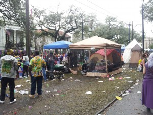 Camping on the Neutral Ground