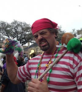 The Mardi Gras Pirate Hobo Strikes Again