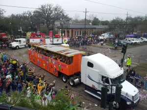 The Truck Parade Turns the Corner