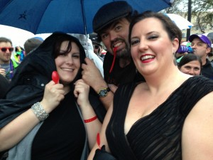 Rocckus Reunites in the Rain with Red Spoons Ready