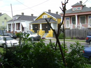 Shotgun Houses Across The Road From My Front Porch