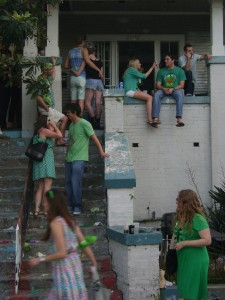Irish Channel House Party: Complete With Kermit Shirt