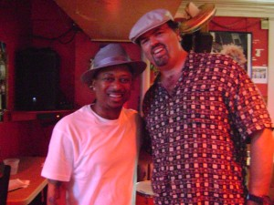 Hanging With Kermit Ruffins at Bullet's