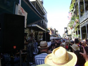 View Down Royal Street From Stage 2