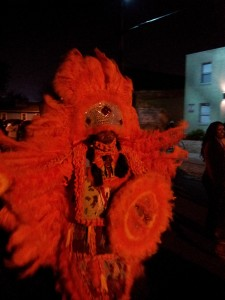 Mardi Gras Indians Mask One Last Time On St. Joseph's Night