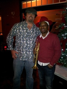 With Kermit Ruffins At His Treme Speakeasy This Past December