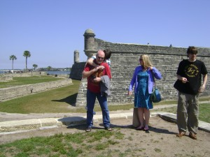 The Fort May Be Sublime, But Herding the Future In-Laws For a Picture--Not So Much!