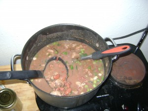 My First Pot Of Red Beans On Monday In New Orleans