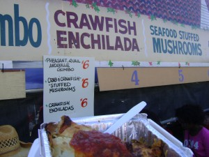 Jazzfest 2013 Crawfish Enchilada