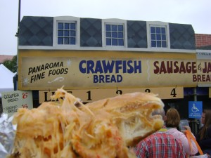 Jazzfest2013 Crawfish Bread