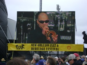 Jazzfest2013 Los Hombres Calientes Irvin Mayfield