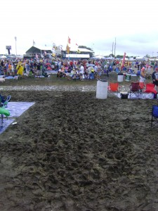 Mud At The Acura Stage: A Sign Of Things To Come