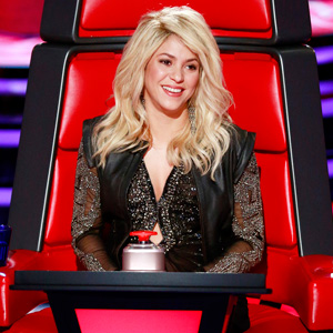 Titling A Post 'The Voice' Is A Fine Excuse To Include A Picture Of Shakira!