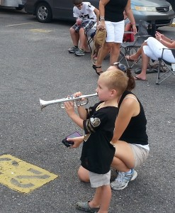 Kid With Trumpet