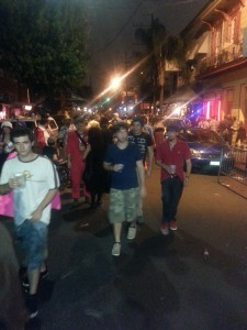 The Late Night Party Raging On Frenchmen