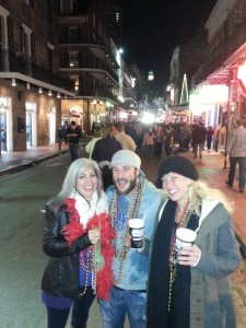 First Night On Bourbon for Kyle & Kelly (right)
