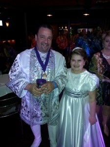 King Phil With One Of His Little Girls