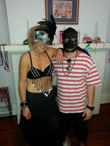 Mardi Gras Gypsy & Medieval Pirate