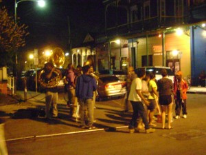 Frenchman Street Brass Band Last March