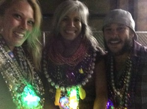 My Bead Magnets (& Kyle) Back At Work At Lee Circle