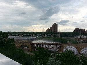 View From Atop The Guthrie Cantilever
