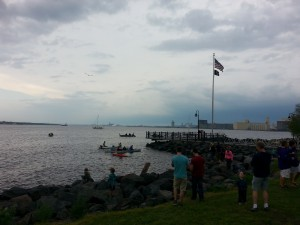 Duluth Harbor & The Climbing Rocks In The Music Park