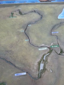 Model Of The Long & Winding (River) Road