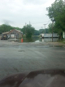 Swamped Missouri Town