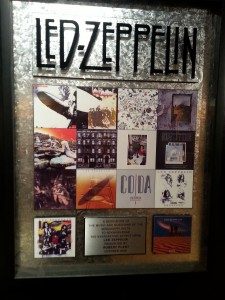 Led Zeppelin's Gift To The Delta Blues Museum Honoring The Music That Inspired Their Launch To International Fame