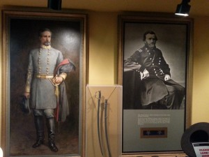 The Opposing Generals (Battlefield Visitor's Center)