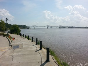 View From Natchez Under The Hill