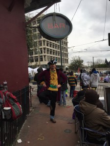 The Mardi Gras Pirate