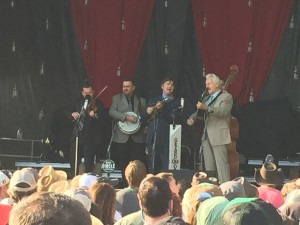Del McCoury Band Kicked Off DelFest